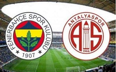 Fenerbahçe Antalyaspor maçı canlı şifresiz izle (bein sports 1 izle)