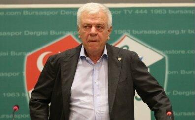 Bursaspor Başkanı Ali Ay'a soruşturma açıldı