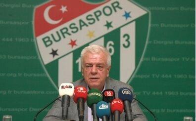 Bursaspor taraftarına istifa cevabı geldi!
