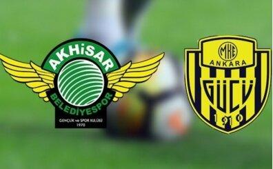 Akhisarspor Ankaragücü maçı canlı hangi kanalda? Akhisarspor Ankaragücü maçı saat kaçta?