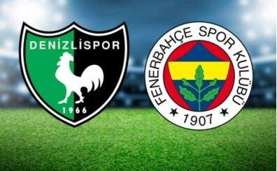 Denizlispor Fenerbahçe maçı canlı şifresiz izle (bein sports izle)
