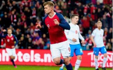 Alexander Sörloth attı, Norveç mutlu bitirdi!