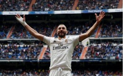 Real Madrid'i Benzema taşıdı!