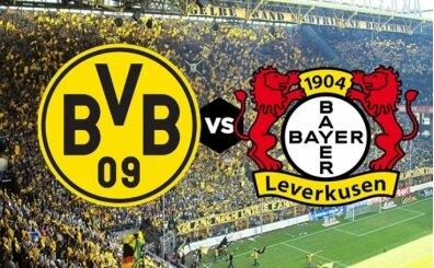Borussia Dortmund Leverkusen canlı hangi kanalda? Dortmund Leverkusen maçı saat kaçta?