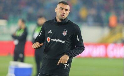 Beşiktaş'ta taraftardan Burak Yılmaz tepkisi