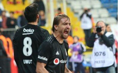 Beşiktaş'ta Caner Erkin'den bu sezon ikinci gol