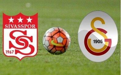 CANLI Sivas GS izle, Sivasspor Galatasaray maçı kaç kaç?