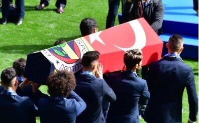 Türk spor camiası, Can Bartu'yu son yolculuğuna uğurladı
