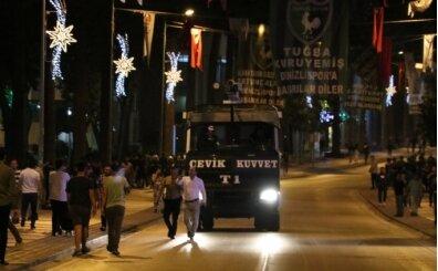 Denizli'de şampiyonluk kutlamalarına polis müdahalesi!