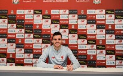 Liverpool Robertson'ın sözleşmesini uzattı