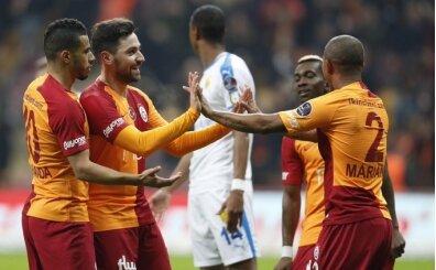 Galatasaray'yı zirvede tutan; iç saha performansı