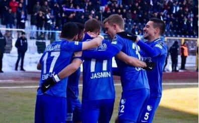 Erzurumspor 4 golle 2019'a 'Merhaba' dedi