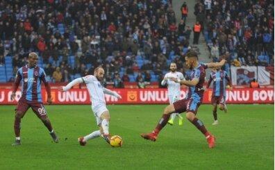 Trabzonspor ikinci yarıda düşüşe geçti!