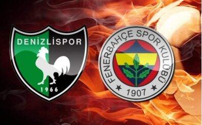 Canlı maç izle, Denizlispor Fenerbahçe şifresiz izle bein sports