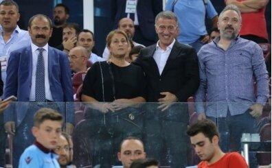 Cemil Usta'nın ailesi, Trabzonspor'un onur konuğu oldu