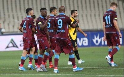 Trabzonspor, Ekuban ile Yunanistan'ı fethetti!