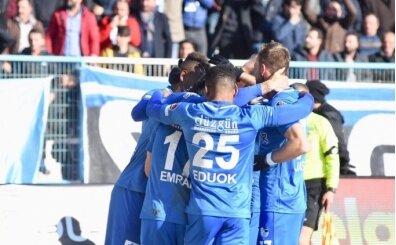 Erzurumspor'un 8 maçlık kötü gidişatı son buldu