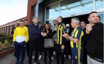 Fenerbahçe'ye destek için İzmir'den İstanbul'a koştu