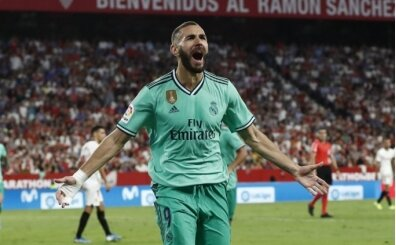 Real Madrid, Sevilla'yı Benzema ile devirdi!