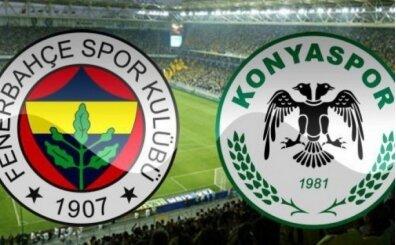 Fenerbahçe Konyaspor maçı İZLE, CANLI Fenerbahçe Konyaspor maçı burada