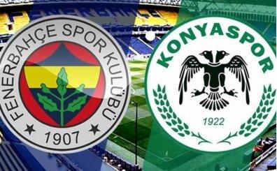 CANLI YAYIN : Fenerbahçe Konyaspor izle