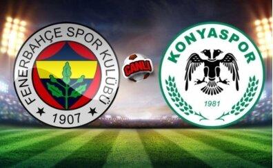 Konyaspor Fenerbahçe CANLI İZLE şifresiz, FB maçı canlı izle