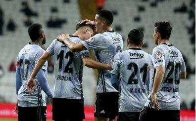 Beşiktaş evinde güle oynaya kazandı