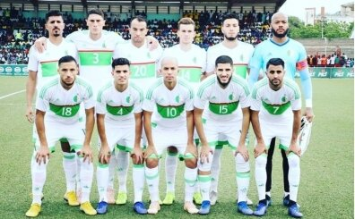 Feghouli oynadı, Cezayir tek golle güldü!