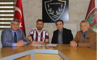 Hatayspor'dan 2 isimle sözleşme yenilendi!
