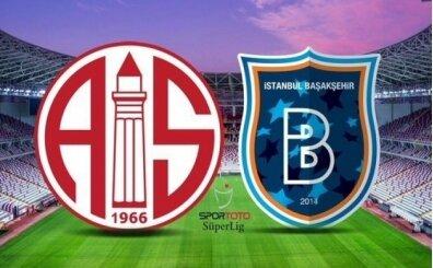 Antalyaspor Başakşehir maçı canlı şifresiz izle (bein sports izle)