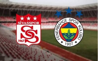 Sivasspor Fenerbahçe maçı İZLE, CANLI Sivasspor Fenerbahçe maçı burada
