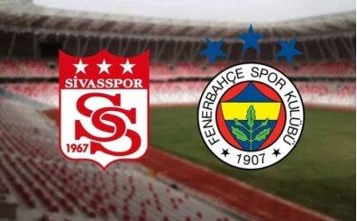 CANLI Sivasspor Fenerbahçe maçı şifresiz İZLE
