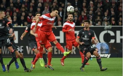 Kaan Ayhan, Düsseldorf'u galibiyete taşıdı!