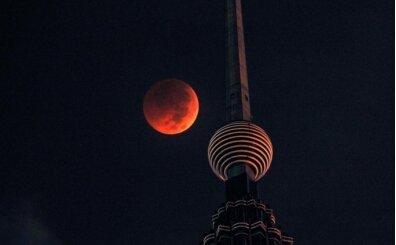 Kanlı ay tutulması nedir, nasıl olur? Kanlı ay tutulması nereden, nasıl izlenir?