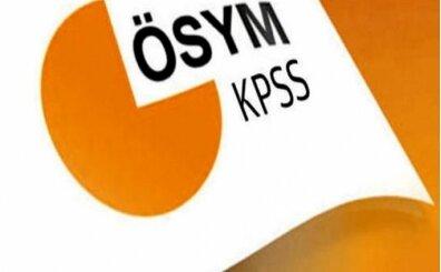 KPSS 2019 ne zaman, tarihi? KPSS başvuruları ne zaman?