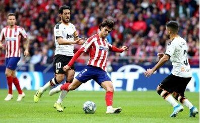 Atletico Madrid'e zirve yarışında Valencia engeli!