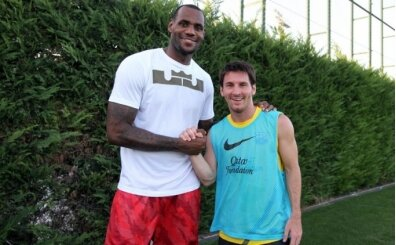 Lionel Messi için LeBron James benzetmesi!