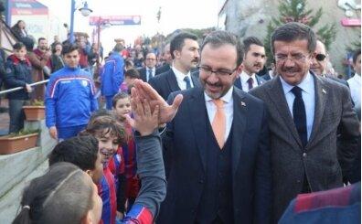 Bakan Kasapoğlu: İzmir için güzel projelerimiz var