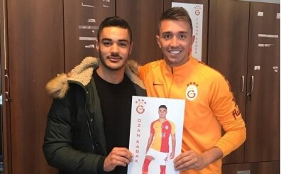 Muslera'dan Ozan Kabak'a veda: 'Galatasaray'ın çocuğu'