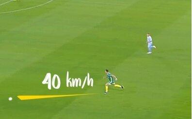 Cristiano Ronaldo'nun hız sınırlarını zorladığı 33 koşusu