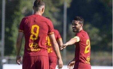 Roma gol oldu yağdı! Cengiz ve Kolarov...