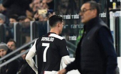 Ronaldo'dan Sarri'ye küfür: 'O... ç...'