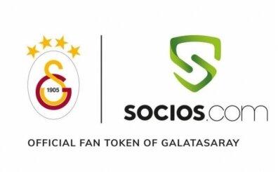 Galatasaray, Socios.com ile iş birliği yaptı