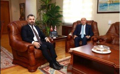 TFF Başkanı Özdemir'den RTÜK Başkanı Şahin'e ziyaret