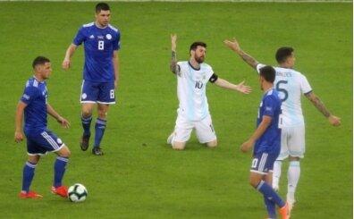Arjantin'e bir şok daha! Yine kazanamadı
