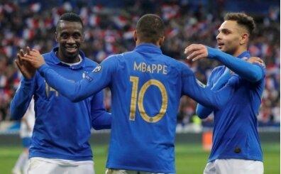 Fransa evinde güle oynaya kazandı! İzlanda...