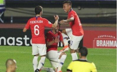 Şili, Japonya'yı 4 golle devirdi! Isla'dan asist...