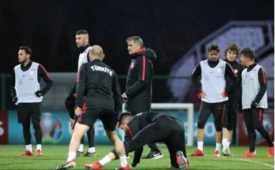 Şenol Güneş, Arnavutluk maçının 11'ini belirledi