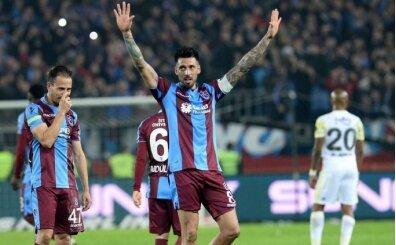 Trabzonspor'da Jose Sosa'ya büyük alkış