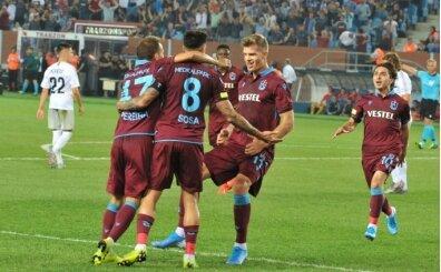 Trabzonspor, lig başlangıçlarında boyun eğmiyor